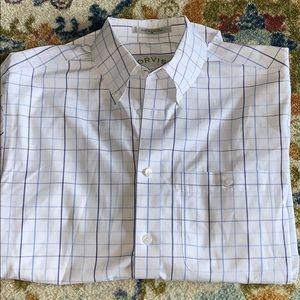 Orvis plaid dress shirt